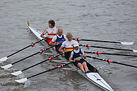 Crew: 212  Upper Thames/Tideway Scullers  WE 4x<br /> <br /> Veteran Fours Head 2018<br /> <br /> To purchase this photo, or to see pricing information for Prints and Downloads, click the blue 'Add to Cart' button at the top-right of the page.
