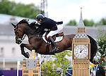 Olympic Games 2012; Equestrian - Venue: Greenwich Park. Peter Charles (GBR).Horse: Vindicat.