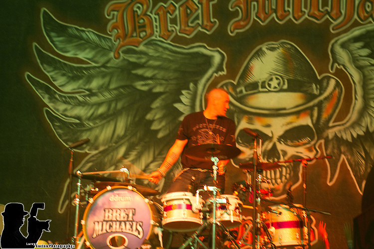 Bret Michaels Performs at the Las Vegas Riviera Hotel and Casino