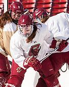 Caitrin Lonergan (BC - 11), Grace Bizal (BC - 2) - The Boston College Eagles practiced at Fenway on Monday, January 9, 2017, in Boston, Massachusetts.Caitrin Lonergan (BC - 11), Grace Bizal (BC - 2) - The Boston College Eagles practiced at Fenway on Monday, January 9, 2017, in Boston, Massachusetts.