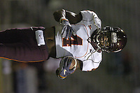 20 October 2005:  Eddie Royal (4)..The Virginia Tech Hokies defeated the Maryland Terrapins 28-9 at Byrd Stadium in College Park, MD.