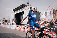 Victory for Yves Lampaert (BEL/Quick-Step Floors); becoming Belgian elite national champion at 27<br /> <br /> Belgian National Championships 2018 (road) in Binche (224km)<br /> ©kramon
