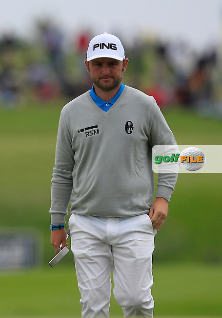 Andy Sullivan (ENG) on the 9th green during Round 4 of the 100th Open de France, played at Le Golf National, Guyancourt, Paris, France. 03/07/2016. <br /> Picture: Thos Caffrey | Golffile<br /> <br /> All photos usage must carry mandatory copyright credit   (&copy; Golffile | Thos Caffrey)