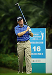 TAIPEI, TAIWAN - NOVEMBER 18:  Nick Job of England tees off on the 16th hole during day one of the Fubon Senior Open at Miramar Golf & Country Club on November 18, 2011 in Taipei, Taiwan.  Photo by Victor Fraile / The Power of Sport Images