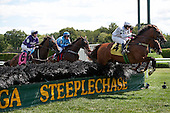 Opera Heroine (4) wins again at the Spa for Andre Brewster and jack Fisher, in the Mrs. Odgen Phipps steeplechase stakes.