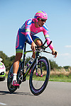SITTARD, NETHERLANDS - AUGUST 16: Filippo Pozzato of Italy riding for Lampre-Merida competes during stage 5 of the Eneco Tour 2013, a 13km individual time trial from Sittard to Geleen, on August 16, 2013 in Sittard, Netherlands. (Photo by Dirk Markgraf/www.265-images.com)