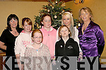GET TOGETHER: Enjoying the annual christmas party for Eagle lodge, Oakpark, Tralee last Sunday afternoon in the Meadowlands Hotel Tralee were (front) l-r: Laura Switzer and Maura Carmody(back)L-R Aileen (Carmody) Switzer, Emily Switzer, Meave carmody, Ciara O'Mahony and Joanne (Carmody)O'Mahony.   Copyright Kerry's Eye 2008