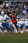 2013 March 02: Mike Chanenchuk #1 of the Maryland Terrapins during a game against the Duke Blue Devils at Koskinen Stadium in Durham, NC.  Maryland won 16-7.