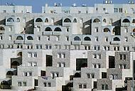 Jerusalem, Israel, November, 1980. Armon Hanaziv, new complex, south of Jerusalem.