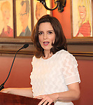 Tina Fey during the 2018 Outer Critics Circle Theatre Awards presentation at Sardi's on May 24, 2018 in New York City.