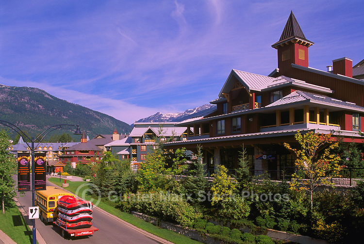Whistler Resort, BC, British Columbia, Canada, Summer
