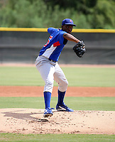 Jeff Antigua / AZL Cubs..Photo by:  Bill Mitchell/Four Seam Images