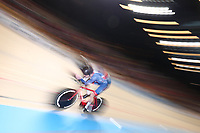 Picture by SWpix.com - 02/03/2018 - Cycling - 2018 UCI Track Cycling World Championships, Day 3 - Omnisport, Apeldoorn, Netherlands - Men's Individual Pursuit - Daniel Bigham of Great Britain