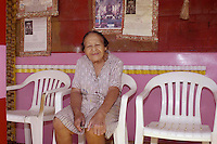 Miss Margaret relaxes at home. Pictures is Miss margaret's Grocery, also known as Rev.Dennis's Castle, in Vicksburg Mississippi. Located on the Blues Highway, HWY 61 North, this folk art Palace is in recent times in need of repair. A non profit is being set up to help preserve the property since Miss Margaret's death in 2008. rev. Dennis is now in nursing home and 94 yrs. old. His works of art and bus he lovingly turned into a church with Margaret's help need to be protected for future generations to enojy. Photo©SuziAltman Margaret's Grocery Store is now a shrine to Rev. Dennis and Miss Margaret. For over 20 years they welcomed travelers from all over the world to share their beliefs and artistic vision. The Mississippi Folk Art Foundation has been established to help preserve this important folk art creation.To help contact suzisnaps@aol.com