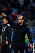 12th January 2018, Estadio Coliseum Alfonso Perez, Getafe, Spain; La Liga football, Getafe versus Malaga; Jose Bordalas Coach of Getafe CF