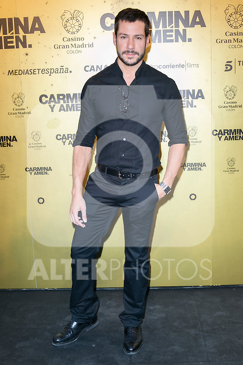 "Alejandro Albarracin attend the Premiere of the movie ""Carmina y Amen"" at the Callao Cinema in Madrid, Spain. April 28, 2014. (ALTERPHOTOS/Carlos Dafonte)"
