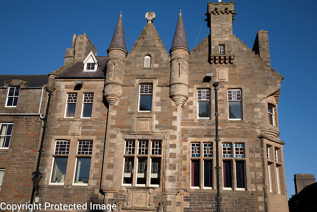 Kirkwall Town Hall on the Orkney Islands, Scotland