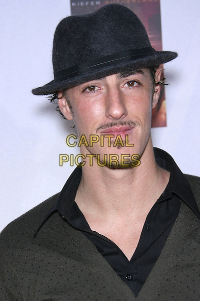 ERIC BALFOUR.24 Season Five DVD Launch Party - Arrivals held at Les Deux, Hollywood, California, USA..December 4th, 2006.headshot portrait goatee mustache black hat facial hair.CAP/ADM/ZL.©Zach Lipp/AdMedia/Capital Pictures