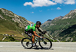 Green Jersey Peter Sagan (SVK) Bora-Hansgrohe descending during Stage 11 of the 2018 Tour de France running 108.5km from Albertville to La Rosiere Espace San Bernardo, France. 18th July 2018. <br /> Picture: ASO/Alex Broadway   Cyclefile<br /> All photos usage must carry mandatory copyright credit (&copy; Cyclefile   ASO/Alex Broadway)