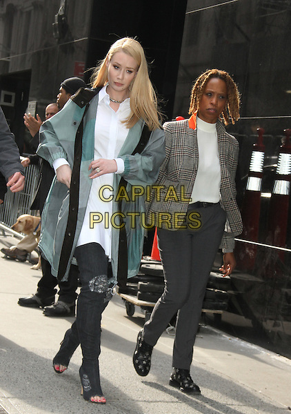03 23, 2016: Iggy Azalea  at Good Morning America  to talk about her second album after postponed her appearance on Tuesday in light of the Brussels terror attacks which occurred on Tuesday in New York, USA March 23, 2016.<br /> CAP/MPI/RW<br /> &copy;RW/MPI/Capital Pictures