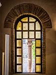 Window, Basilica di Sant'Apollinare Nuevo, Ravenna, Italy