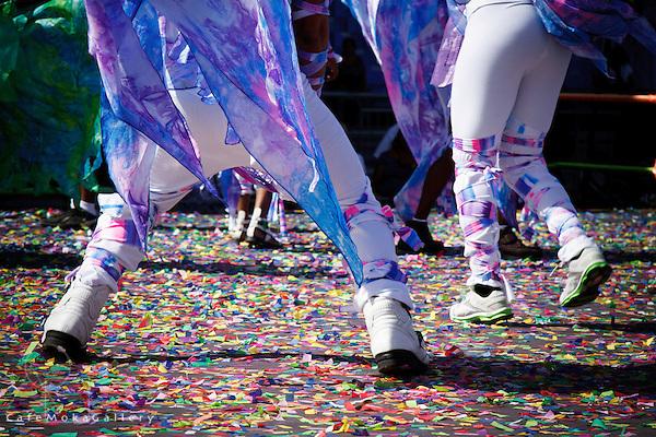 Joy - The Finale by Brian Macfarlane - feet dancing in confetti in Imagination