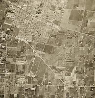 historical aerial photograph Sunnyvale, Santa Clara county, California, 1948