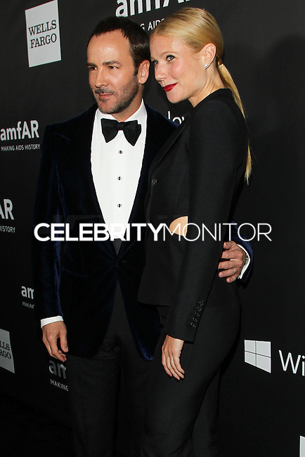 HOLLYWOOD, LOS ANGELES, CA, USA - OCTOBER 29: Tom Ford, Gwyneth Paltrow arrive at the 2014 amfAR LA Inspiration Gala at Milk Studios on October 29, 2014 in Hollywood, Los Angeles, California, United States. (Photo by Celebrity Monitor)