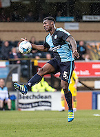 Anthony Stewart of Wycombe Wanderers during the Sky Bet League 2 match between Wycombe Wanderers and Accrington Stanley at Adams Park, High Wycombe, England on the 30th April 2016. Photo by Liam McAvoy / PRiME Media Images.