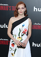 """HOLLYWOOD, CA - APRIL 19:  Madeline Brewer at the premiere Of Hulu's """"The Handmaid's Tale"""" Season 2 at TCL Chinese Theatre on April 19, 2018 in Hollywood, California. (Photo by Scott KirklandPictureGroup)"""