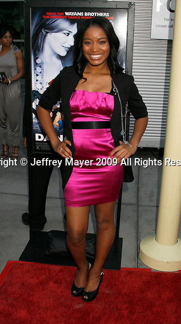 """HOLLYWOOD, CA. - May 20: Keke Palmer arrives at the Los Angeles Premiere of """"Dance Flick"""" at the ArcLight Theatre on May 20, 2009 in Hollywood, California."""