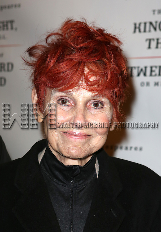 Paula Prentiss attends the Broadway Opening Night Performance of 'Twelfth Night' at the Belasco Theatre on November 10, 2013 in New York City.