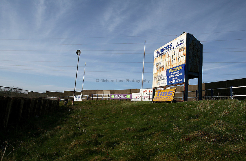 Photo: Paul Thomas..20/02/2007..Workington Rugby League Club..Stadium, General view