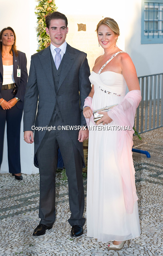 "Princess Theodora and Prince Philippos_.The Wedding of Prince Nikolaos and Tatiana Blatnik attended by many members of European Royalty at St Nikolaos Church on the Island of Spetses_Grecce_24/08/2010.Mandatory Credit Photo: ©DIAS-NEWSPIX INTERNATIONAL..**ALL FEES PAYABLE TO: ""NEWSPIX INTERNATIONAL""**..IMMEDIATE CONFIRMATION OF USAGE REQUIRED:.Newspix International, 31 Chinnery Hill, Bishop's Stortford, ENGLAND CM23 3PS.Tel:+441279 324672  ; Fax: +441279656877.Mobile:  07775681153.e-mail: info@newspixinternational.co.uk"