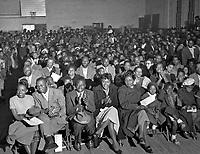 Third Annual Wilson Shoeshine Contest, Wilson, North Carolina, 1952. Photo by John G. Zimmerman.