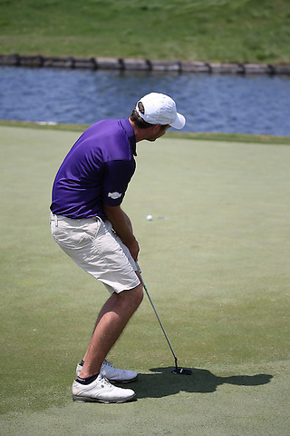 McKINNEY, TX - APRIL 23 : Southland Conference Men's Championship Golf Tournament at Stonebridge Ranch Country Club in McKinney on April 23, 2014 in McKinney, Texas. Photo by Rick Yeatts