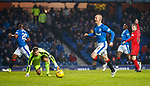 4.3.2018: Rangers v Falkirk Scottish Cup QF<br /> Kenny Miller ios flagged offside