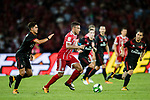 Bayern Munich Midfielder Corentin Tolisso (C) in action during the 2017 International Champions Cup China match between FC Bayern and AC Milan at Universiade Sports Centre Stadium on July 22, 2017 in Shenzhen, China. Photo by Marcio Rodrigo Machado/Power Sport Images