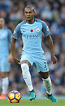 Fernandinho of Manchester City during the Premier League match at the Etihad Stadium, Manchester. Picture date: November 5th, 2016. Pic Simon Bellis/Sportimage