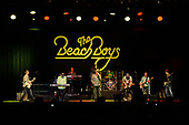 HOLLYWOOD FL - FEBRUARY 27: Bruce Johnston, Mike Love, Jeff Foskett, Christian Love, John Cowsill, Keith Hubacher and Scott Totten of The Beach Boys perform at the Hard Rock Events Center held at the Seminole Hard Rock Hotel & Casino on February 27, 2019 in Hollywood, Florida. : Credit Larry Marano © 2019