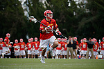 2017 March 25: Nick Brozowski #24 of Maryland Terrapins during a 15-7 win over the North Carolina Tar Heels at Fetzer Field in Chapel Hill, NC.