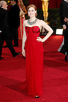 Amy Adams arrives at the 81st Annual Academy Awards held at the Kodak Theatre in Hollywood, Los Angeles, California on 22 February 2009