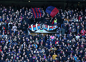 5th November 2017, Wembley Stadium, London England; EPL Premier League football, Tottenham Hotspur versus Crystal Palace; Crystal Palace Ultra fans chanting inside Wembley Stadium