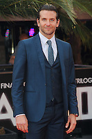 NON EXCLUSIVE PICTURE: PAUL TREADWAY / MATRIXPICTURES.CO.UK.PLEASE CREDIT ALL USES..WORLD RIGHTS..American actor Bradley Cooper attends the European Premiere of The Hangover Part 3, at the Empire Cinema in Leicester Square, London...MAY 22nd 2013..REF: PTY 133458