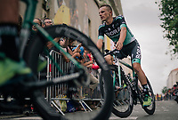 Rafał Majka (POL/BORA-hansgrohe) at the Team presentation in La Roche-sur-Yon<br /> <br /> Le Grand D&eacute;part 2018<br /> 105th Tour de France 2018<br /> &copy;kramon
