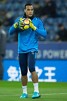 Michel Vorm of Tottenham during the Premier League match between Leicester City and Tottenham Hotspur at the King Power Stadium, Leicester, England on 28 November 2017. Photo by James Williamson / PRiME Media Images.