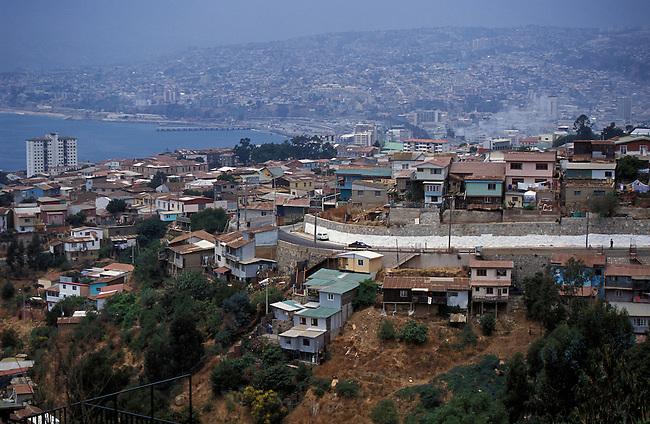 Valparaiso. *** Valparaiso, Chile.