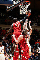 SAN ANTONIO, TX - FEBRUARY 5, 2011: The Lamar University Cardinals vs. the University of Texas at San Antonio Roadrunners Men's Basketball at the UTSA Convocation Center. (Photo by Jeff Huehn)