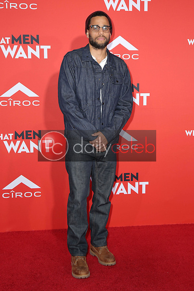 "Michael Ealy<br /> at the ""What Men Want"" Premiere, Village Theater, Westwood, CA 01-28-19<br /> David Edwards/DailyCeleb.com 818-249-4998"