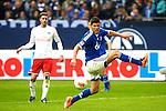 Duitsland, Gelsenkirchen, 28 april  2013.Seizoen 2012-2013.Bundersliga.FC Schalke 04 - Hamburger SV.Klaas Jan Huntelaar van FC Schalke 04 in actie met de bal